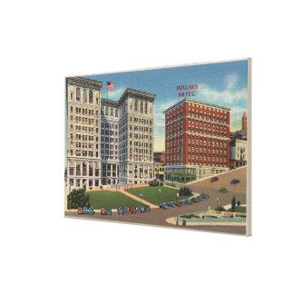 Seattle, WAHotel Holland & Municipal Bldgs Canvas Print