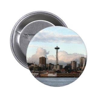 Seattle Washington 6 Cm Round Badge