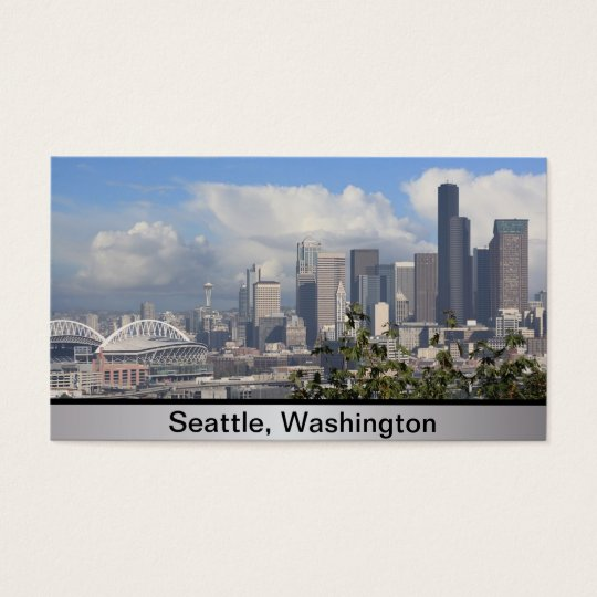 Seattle Washington Business Card