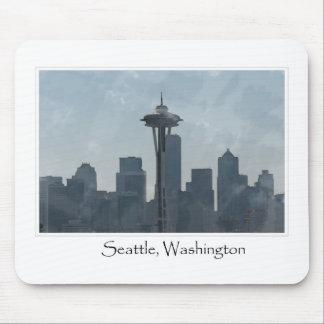 Seattle Washington Downtown Gifts Souvenir Mousepad