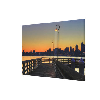 Seattle Washington Downtown Skyline Canvas Print