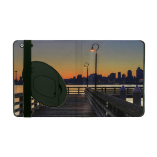 Seattle Washington Downtown Skyline iPad Cover