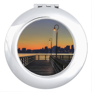 Seattle Washington Downtown Skyline Travel Mirrors