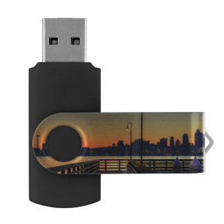 Seattle Washington Downtown Skyline USB Flash Drive