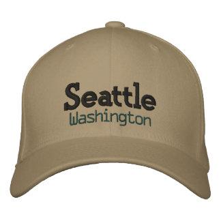 Seattle washington hat! embroidered hat