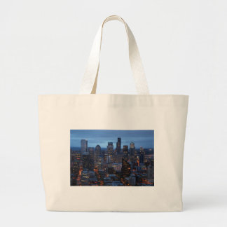 Seattle Washington Jumbo Tote Bag