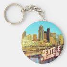 Seattle Washington Key Ring
