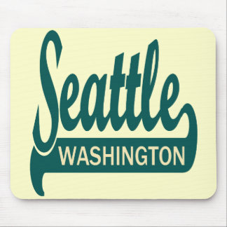 Seattle, Washington Mousepad