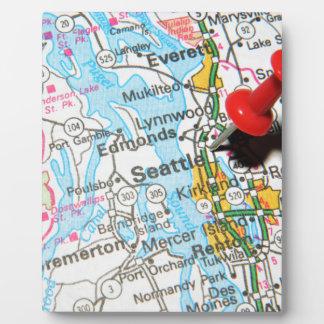 Seattle, Washington Plaque