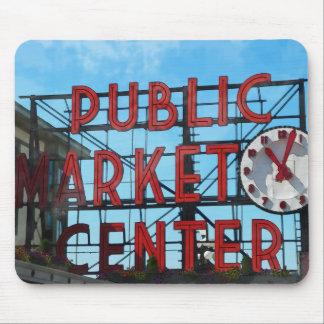 Seattle Washington Public Market Gifts Mouse Pads