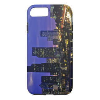 Seattle, Washington skyline at night iPhone 8/7 Case