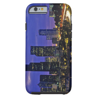 Seattle, Washington skyline at night Tough iPhone 6 Case