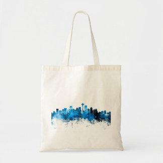Seattle Washington Skyline Budget Tote Bag