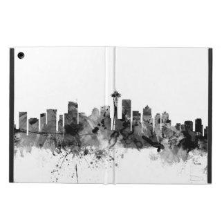 Seattle Washington Skyline iPad Air Cases