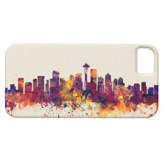 Seattle Washington Skyline iPhone 5 Cover
