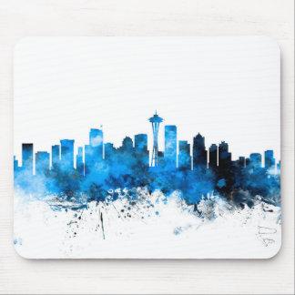 Seattle Washington Skyline Mousemats