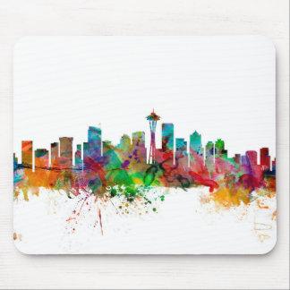 Seattle Washington Skyline Mouse Pad