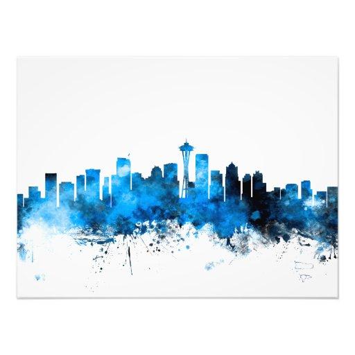 Seattle Washington Skyline Photo Art