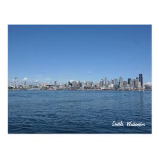 Seattle Washington Skyline Postcard