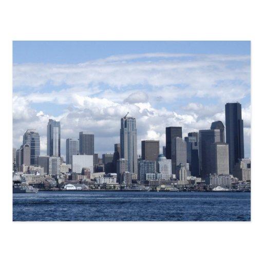 Seattle Washington Skyscrapers Post Card
