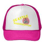 SEATTLE WASHINGTON TRUCKER HAT