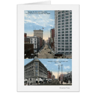 Seattle, Washington - View of 2nd Card