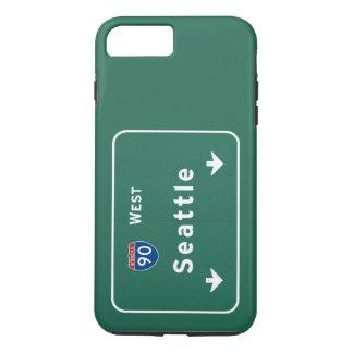 Seattle Washington wa Interstate Highway Freeway : iPhone 7 Plus Case