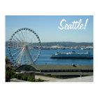 Seattle Wheel & Ferry Postcard