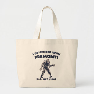 Seattle Zombie Attack '09 Jumbo Tote Bag