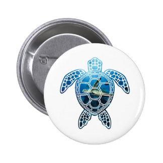 seaturtle-2 6 cm round badge