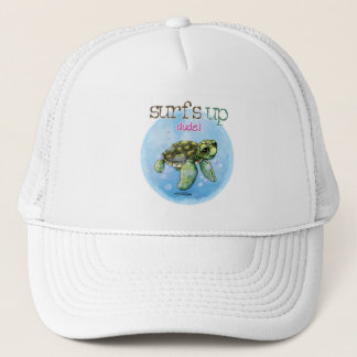 Seaturtle surfer girl hat