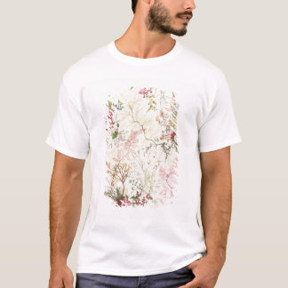 Seaweed design for silk material (w/c on paper) T-Shirt
