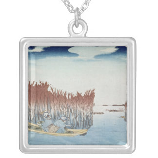 Seaweed Gatherers at Omari, from the series Silver Plated Necklace