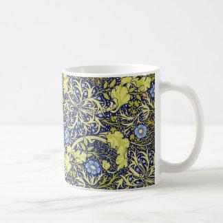 Seaweed vintage Morris & Co. mug