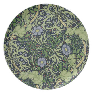 Seaweed Wallpaper Design, printed by John Henry De Plates