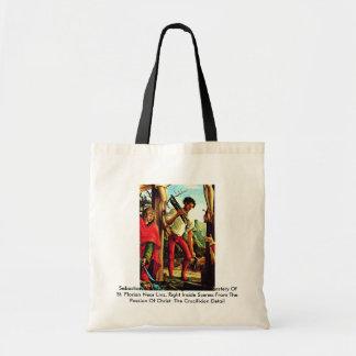 Sebastian Altar Of The Augustinian Monastery Canvas Bags