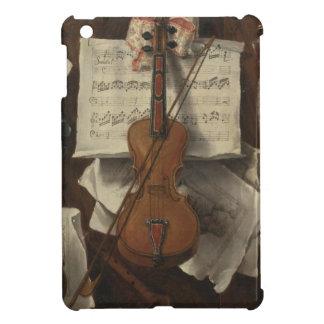 Sebastiano Lazzari Trompe - Violin and Music Notes iPad Mini Case