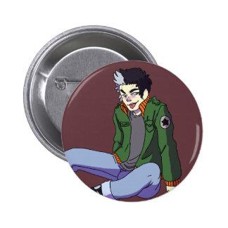 Sebastion 6 Cm Round Badge