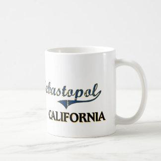 Sebastopol California City Classic Basic White Mug
