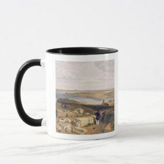 Sebastopol from Old Chersonese, plate from 'The Se Mug
