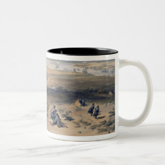 Sebastopol from the East, plate from 'The Seat of Two-Tone Coffee Mug