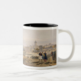 Sebastopol from the Rear of Fort Nicholas, plate f Two-Tone Coffee Mug