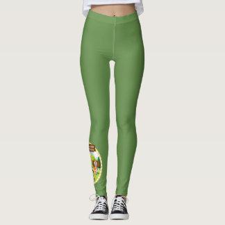 SEBRSD B/ASP Sport Leggings (Adult) - GREEN