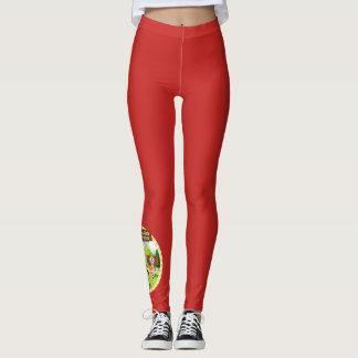 SEBRSD B/ASP Sport Leggings (Adult) - RED