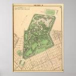 Sec 10 Brooklyn map Poster