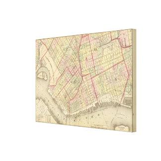 Sec 2 Brooklyn map Canvas Print