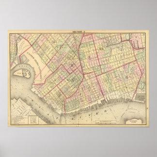 Sec 2 Brooklyn map Poster