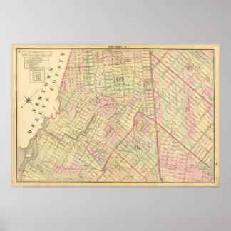 Sec 4 Brooklyn map Poster