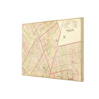 Sec 5 Brooklyn map Canvas Print