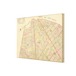 Sec 7 Brooklyn map Canvas Print